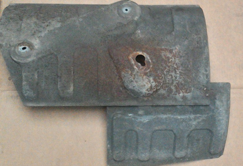 Rear Exhaust Box Heat Shield Bongospares Co Uk